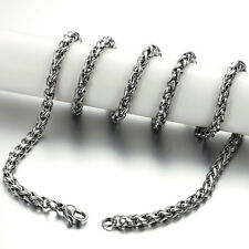 Men Necklaces Fashion Jewelry Stainless Steel Titanium Chain Necklace