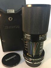 Tamron Adaptall 2 - 80-210mm f/1 Lens, L37c 52mm Lens, 6 color filters and more!