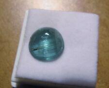 3.1 CT TOP BLUE INDICOLITE CATSEYE TOURMALINE CABOCHON TOURMALINE KING MINE