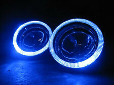 Blue Halo Fog Lamps Angel Eye Driving Lights Kit Pair for 2014-2017 Kia Soul