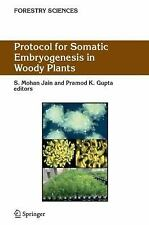 Protocol for Somatic Embryogenesis in Woody Plants Forestry Sciences