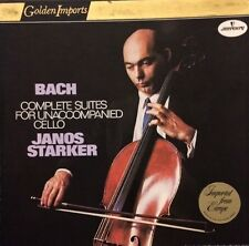 Bach Complete Suites For Unaccompanied Cello Starker Mercury Golden Import