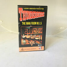 VHS MOVIE.THE THUNDERBIRDS.VOL 5.THE MAN FROM M.I.5.GERRY ANDERSON