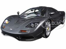 1994 MCLAREN F1 ROAD CAR METALLIC BLACK 1/18 DIECAST MODEL MINICHAMPS 530133420