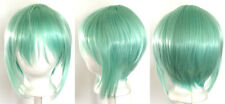 12'' Bob Cut Mint Green Synthetic Cosplay Wig NEW