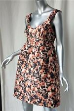 MULBERRY Quilted SILK Rose Day/Night Dress NEW 8/12 $1K