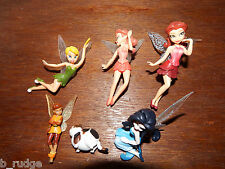 RARE Bundle joblot 5 Disney Fairies figure toy playset Mr. Twitches Silvermist