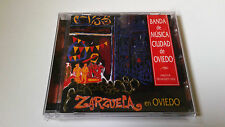 """BANDA DE MUSICA CIUDAD DE OVIEDO"""" ZARZUELA EN OVIEDO"""" CD 13 TRACKS COMO NUEVO"""