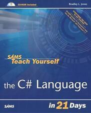 Sams Teach Yourself the C# Language in 21 Days (Sams Teach Yourself)-ExLibrary