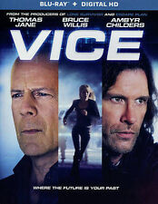 Vice NEW Blu-Ray disc/case/cover only-no digital/slip- Bruce Willis Kirk 2015