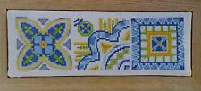 ' 3 MESSICANO COLORATO ARTE Piastrella motivi'S cross stitch chart By Diane Machin (d3)