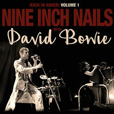 NINE INCH NAILS & DAVID BOWIE 2016 ST LOUIS '92 CONCERT CLEAR 2 VINYL RECORD SET