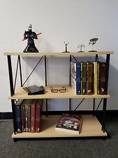 Bookcase Bookshelf Furniture 3 Shelf Bookcase  Office Home Furniture (Birch)