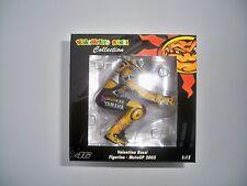 MINICHAMPS FIGURINE V.ROSSI MOTO GP LAGUNA SECA 2005 1:12 SCALE (NEW)