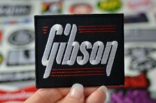 GIBSON Musical Instument Guitar Electric Music Band Patch Iron/Sew On Patches
