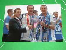 Peter Clarke Signed Huddersfield Town 2012 League One Play Off Final Photograph