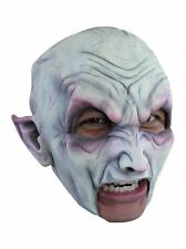 Vampire with Teeth Latex Mask Dead Vamp Open Mouth Prosthetic Adult Halloween