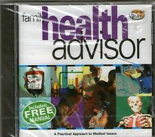 PC CD ROM FAMILY HEALTH ADVISOR - New SEALED GSP WINDOWS FREE p&p uk