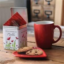 Personalizzata Tea Caddy-Tea Tin-TEA LOVERS REGALO-Poppy Design