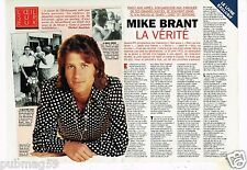 Coupure de Presse Clipping 1995 (4 pages) Mike Brant