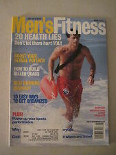 Men's Fitness May 1994. Lifeguards! Cycling Helmets Road Test!  (gay interest)
