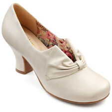 NEW HOTTER DONNA LEATHER SHOES. OFF WHITE. SIZE 8.  RRP £85. BNIB. BESTSELLERS