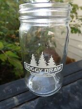Mini Mason Jar Style Taster Beer Glass ~ Boggy Draw Brewery ~ Sheridan, COLORADO