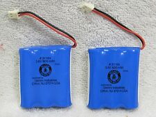 2X 600mAh 3.6V Cordless Phone Battery fit Vtech bt-905 LOT OF TWO