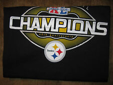 M Pittsburgh Steelers Super Bowl Xl Champions Official T-shirt 2006 WITH ROSTER