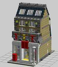 LEGO Custom Modular Building: Lego Store+Apartment (LDD File/Instructions Only)