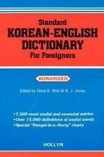 Standard Korean-English Dictionary for Foreigners : Romanized by Gene S. Rhie...