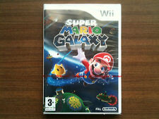 """Super Mario Galaxy"" Nintendo Wii Game NEW/FACTORY SEALED (PAL)"