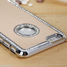 """Gold Glitter Bling Crystal Glossy Case Cover for Apple iPhone 6/6S Plus 5.5"""""""