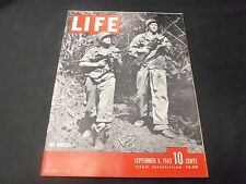 1943 SEPTEMBER 6 LIFE MAGAZINE - JAP HUNTERS FRONT COVER - GREAT ADS - O 6465