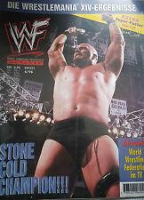 WWF WWE Magazin 6/98 6/1998 + DIN A1 Stone Cold Steve Austin Poster