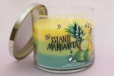 NEW 1 ISLAND MARGARITA BATH & BODY WORKS 14.5 OZ 3-WICK LARGE FILLED HOME CANDLE