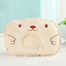 Baby Newborn Anti Roll Pillow Sleep Positioner Prevent Flat Head Cotton Cushion