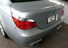 BMW 5 SERIES E60 2004-09 M5 CURVED WING REAR TRUNK BOOT LIP SPOILER M2 Y3249