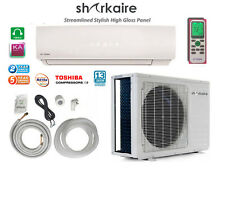 Super Efficient 9000 BTU Ductless Mini Split Air Conditioner Heat Pump 3/4 Ton