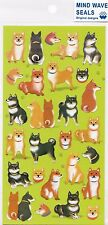 Cute Kawaii Japanese Dog Stickers Shiba Inu Diary Planner Craft Doge Stationery