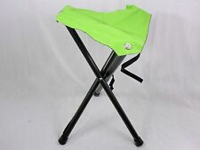Lime Green 3-Legged Folding Aluminum Disc Golf Stool