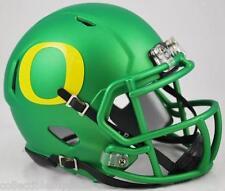 NEW OREGON DUCKS NCAA APPLE GREEN Revolution Speed Mini Football Helmet