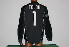 maglia inter nike TOLDO 2003 2004 pirelli goalkeeper match worn tags new serie A