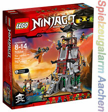 LEGO 70594 Ninjago Die Leuchtturmbelagerung The Lighthouse Siege Phare N16/8