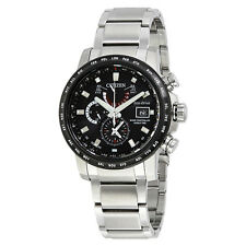 Citizen World Time A-T Chronograph Perpetual Automatic Mens Watch AT9071-58E