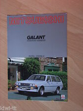 Mitsubishi Galant Station Wagon 1600GL/ 2000GLX (A120) Prospekt / Brochure, NL
