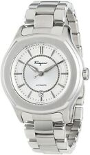 Ferragamo Men's FQ1040013 Lungarno Stainless Steel Swiss Automatic Date Watch