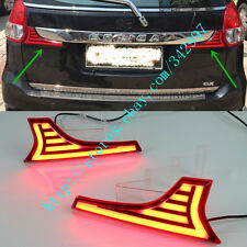 2x LED Rear Bumper Brake Light Turn Signal Light DRL For Suzuki Ertiga 2016-2017