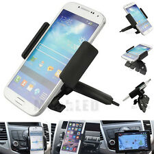 Car Auto CD Slot Mount Cradle Holder Stand for Mobile Smart Cell Phones USA