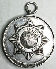 China Shanghai Volunteer Corps (工部局) 1913-27 Long Service Silver Medal